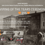 Wiping of the Tears Ceremony